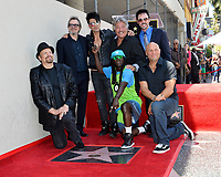 The Amazing Johnathan, Gary Oldman, Criss Angel, Tony Orlando, Lance Burton, Randy Couture, Flavor Flav at the Hollywood Walk of Fame Star Ceremony honoring illusionist Criss Angel. Hollywood Boulevard, Los Angeles, USA 20 July 2017<br /> Picture: Paul Smith/Featureflash/SilverHub 0208 004 5359 sales@silverhubmedia.com