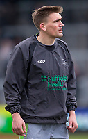 Newcastle Falcons' Toby Flood during the pre match warm up<br /> <br /> Photographer Bob Bradford/CameraSport<br /> <br /> Anglo Welsh Cup Semi Final - Exeter Chiefs v Newcastle Falcons - Sunday 11th March 2018 - Sandy Park - Exeter<br /> <br /> World Copyright &copy; 2018 CameraSport. All rights reserved. 43 Linden Ave. Countesthorpe. Leicester. England. LE8 5PG - Tel: +44 (0) 116 277 4147 - admin@camerasport.com - www.camerasport.com