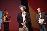 PESCARA (PE) 08/07/2012 - 39° FILM FESTIVAL INTERNAZIONALE FLAIANO. PREMIAZIONE FINALE. IN FOTO IL REGISTA PAOLO SORRENTINO .FOTO DI LORETO ADAMO