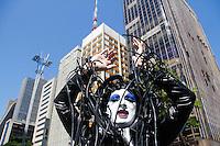 SAO PAULO, SP, 04.05.2014 - PARADA DO ORGULHO LGBT - Participante  durante o Festival do  Orgulho LGBT na tarde deste Domingo, 4 na Avenida Paulista, regiao central da  cidade de São Paulo. (Foto: Andre Hanni /Brazil Photo Press).