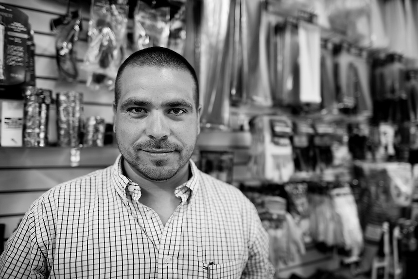 Miguel Angel Victoria Aldane. Hardware store owners in Culiacan, Sinaloa,  Mexico