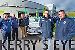 Pictured at the Launch of the Kerry County Board Car Draw at Fitzgerald Stadium on Sunday from left: Stephen O'Sullivan, Joe Wallace, Paudie Dineen, Christy Kileen, Colm Cooper and Patrick O'Sullivan.