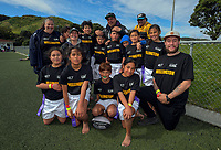 Wellington team photo. 2017 Air NZ Rippa Rugby Championship at Wakefield Park in Wellington, New Zealand on Tuesday, 19 September 2017. Photo: Dave Lintott / lintottphoto.co.nz
