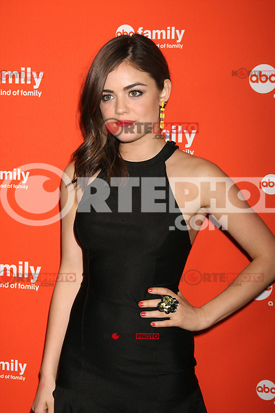 Lucy Hale at the ABC Family West Coast Upfronts party at The Sayers Club on May 1, 2012 in Hollywood, California. © mpi26/MediaPunch Inc.