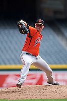 San Francisco Giants pitcher Mac Marshall (62) during an instructional league game against the Arizona Diamondbacks on October 16, 2015 at the Chase Field in Phoenix, Arizona.  (Mike Janes/Four Seam Images)