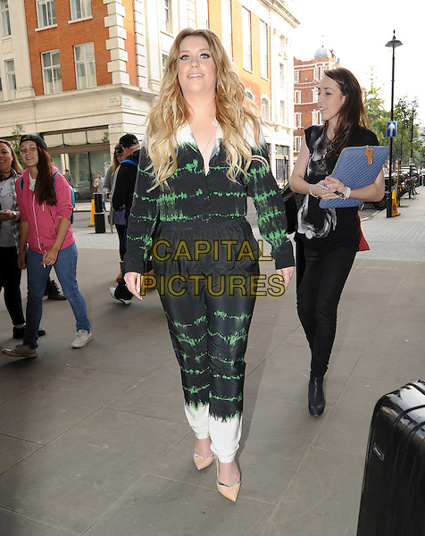 LONDON, ENGLAND - Ella Henderson at BBC Radio 1 on September 22nd, 2014 in London, England.<br /> CAP/AOU<br /> &copy;AOU/Capital Pictures