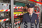 Station Officer Mr Edmond O'Donoghue who is retiring after 35 years of loyal service from Abbeyfeale Fire Brigade, serving West Limerick, North Cork and North Kerry, pictured here last Tuesday in Abbeyfeale.