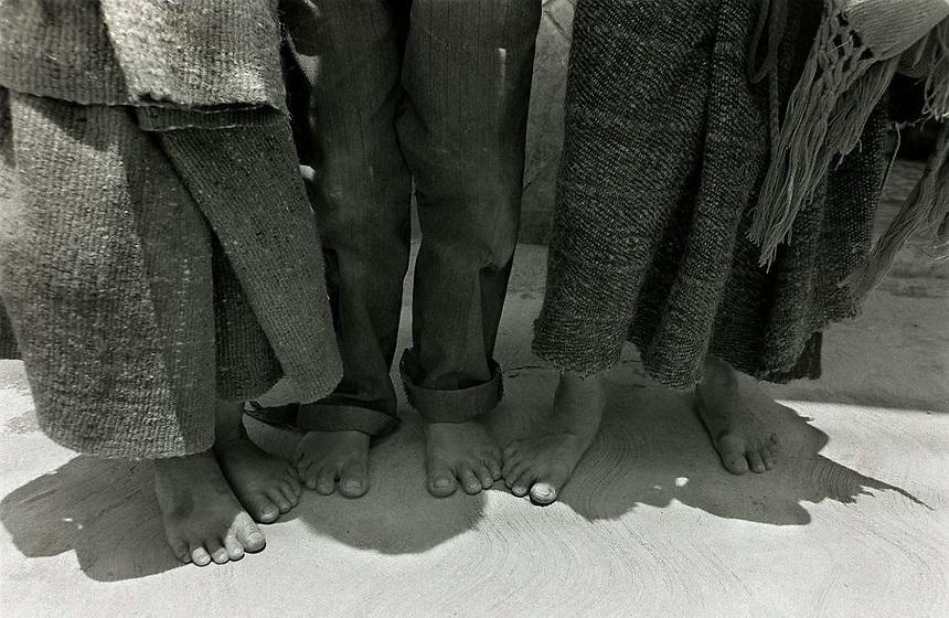 Tres niños - Three children, San Cristóbal de las Casas, México.