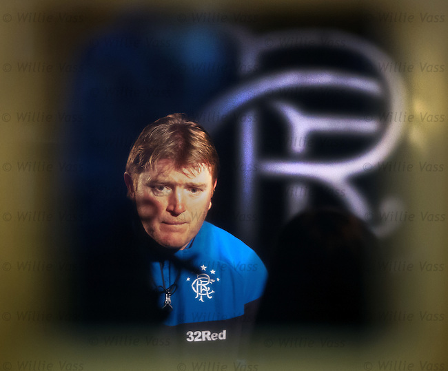 Stuart McCall is the new Rangers manager at least until the end of this season