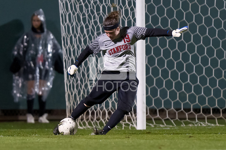 STANFORD, CA - NOVEMBER 5: Stanford defeats California 2-0 in a women's soccer match on November 5, 2011 in Stanford, California.