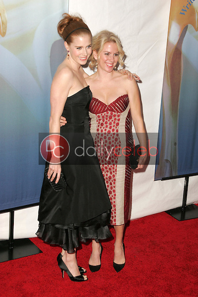 Amy Adams and sister Julie<br />
