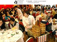 Maxim City Hall dim sum restaurant in Hong Kong.
