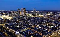 Nederland - Den Haag-  2018.   Den Haag bij avond. Foto Berlinda van Dam / Hollandse Hoogte