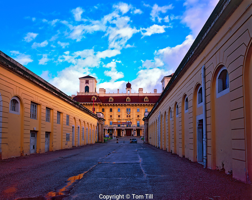 Esterhazy Castle - Built 1390, new castle built 1663, Eisenstadt, Austria