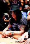 Slash of Guns & Roses fame competes in the tournament.