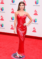 LAS VEGAS, NV - NOVEMBER 16:  Aleska Catellano at the 18th Annual Latin Grammy Awards at the MGM Grand Garden Arena on November 16, 2017 in Las Vegas, Nevada. (Photo by Scott Kirkland/PictureGroup)