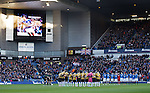 Minutes silence held in memory of Ian Redford