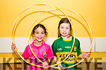 l-r  Abbie Slattery and Saoirse Murphy Enjoying the Ogras Summer Camps at Ballyheigue Community Centre on Tuesday