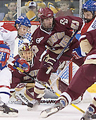 Brad King, Cory Schneider, Brian O'Hanley, Mark Roebothan - The University of Massachusetts-Lowell River Hawks defeated the Boston College Eagles 6-3 on Saturday, February 25, 2006, at the Paul E. Tsongas Arena in Lowell, MA.