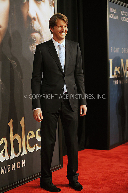 WWW.ACEPIXS.COM . . . . . .December 10, 2012...New York City....Tom Hooper attends the 'Les Miserables' New York premiere at Ziegfeld Theatre on December 10, 2012 in New York City ....Please byline: KRISTIN CALLAHAN - ACEPIXS.COM.. . . . . . ..Ace Pictures, Inc: ..tel: (212) 243 8787 or (646) 769 0430..e-mail: info@acepixs.com..web: http://www.acepixs.com .