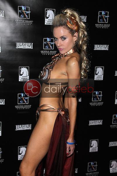 Paula Labaredas<br /> at the Lucasfilm Fashion Show at Comic-Con 2011, Westgate Hotel, San Diego, CA. 07-23-11<br /> David Edwards/DailyCeleb.com 818-249-4998