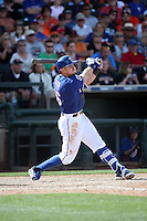 Ryan Rua - Texas Rangers 2016 spring training (Bill Mitchell)