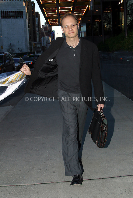 """***EXCLUSIVE***..""""Frasier"""" star David Hyde Pierce spotted walking on Upper West Side after he picked up his shirt from dry cleaners. New York, April 12, 2003. Please byline: Alecsey Boldeskul/NY Photo Press.   ..*PAY-PER-USE*      ....NY Photo Press:  ..phone (646) 267-6913;   ..e-mail: info@nyphotopress.com"""