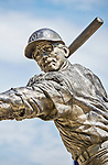 "20 May 2014: A bronze statue of former Washington Senators slugger Frank ""Hondo"" Howard is on display at Nationals Park in Washington, DC. Sculpted by artist Omri Amrany, the work was commissioned by the DC Creates Public Art Program in 2009. Mandatory Credit: Ed Wolfstein Photo *** RAW (NEF) Image File Available ***"