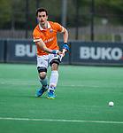 BLOEMENDAAL - Tim Swaen (Bldaal)   tijdens de hoofdklasse competitiewedstrijd hockey heren,  Bloemendaal-Den Bosch (2-1) COPYRIGHT KOEN SUYK