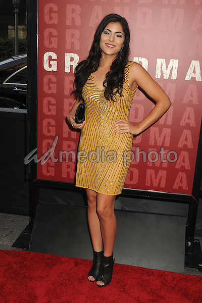 "10 June 2015 - Los Angeles, California - Veronica Sixtos. LA Film Festival 2015 Opening Night Premiere of ""Grandma"" held at Regal Cinemas LA Live. Photo Credit: Byron Purvis/AdMedia"