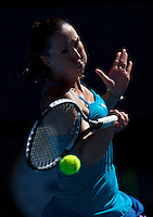 Jelena Jankovic (SRB) (8) against  Monica Niculescu (ROU) in the First Round of the LAdies Singles.  Jankovic beat Niculescu 6-4 6-0..International Tennis - Australian Open Tennis - Tuesday 19 Jan 2010 - Melbourne Park - Melbourne - Australia ..© Frey - AMN Images, 1st Floor, Barry House, 20-22 Worple Road, London, SW19 4DH.Tel - +44 20 8947 0100.mfrey@advantagemedianet.com