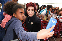 Sharon Osbourne<br /> arrives for X Factor London Auditions at EXCEL, Docklands, London.<br /> <br /> <br /> ©Ash Knotek  D3134  19/06/2016