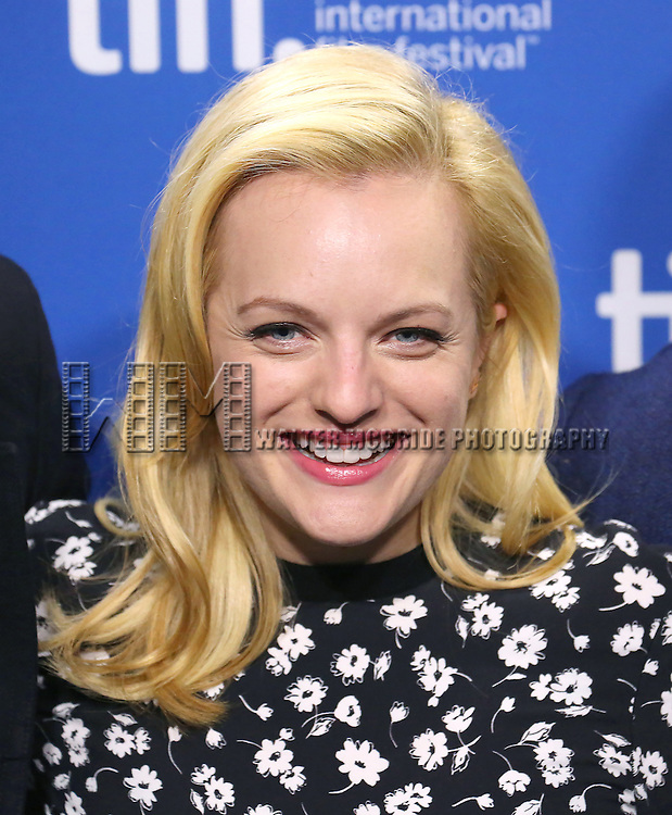 Elisabeth Moss attends the 'High-Rise' photo call during the 2015 Toronto International Film Festival at Roy Thomson Hall on September 14, 2015 in Toronto, Canada.