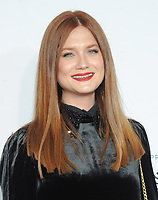 NEW YORK, NY - APRIL 19: Bonnie Wright attends the 'Clive Davis: The Soundtrack of Our Lives' 2017 Opening Gala of the Tribeca Film Festival at Radio City Music Hall on April 19, 2017 in New York City. <br /> CAP/MPI/JP<br /> &copy;JP/MPI/Capital Pictures