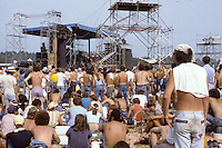 Marshall Tucker Band in Performance On Stage at the Labor Day Weekend Grateful Dead Concert, Englishtown NJ, 3 September 1977.