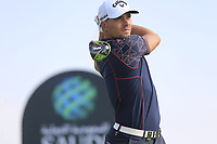 Haydn Porteous (RSA) on the 6th tee during the 1st round of  the Saudi International powered by Softbank Investment Advisers, Royal Greens G&CC, King Abdullah Economic City,  Saudi Arabia. 30/01/2020<br /> Picture: Golffile | Fran Caffrey<br /> <br /> <br /> All photo usage must carry mandatory copyright credit (© Golffile | Fran Caffrey)