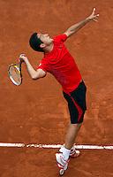 31-05-10, Tennis, France, Paris, Roland Garros, Nicolas Almagro