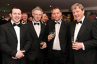 Ted Robinson, Glen Royal Maynooth, John Pio Groaarke, Kevin Denner (Bunzl Rafferty Hospitality) and Jerry Russell, Westgrove Hotel Clane,   at the Irish Hotels Federation Conference Gala Dinner in The Malton Hotel, Killarney on Tuesday night. Picture: MacMonagle, Killarney