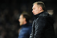 Steve Cooper Head Coach of Swansea City in action during the Sky Bet Championship match between Fulham and Swansea City at Craven Cottage on February 26, 2020 in London, England. (Photo by Athena Pictures/Getty Images)