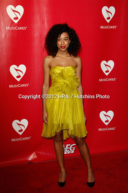 LOS ANGELES - FEB 10:  Corinne Bailey Rae arrives at the 2012 MusiCares Gala honoring Paul McCartney at LA Convention Center on February 10, 2012 in Los Angeles, CA