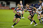 Siale Piutau chases Lelia Masaga upfield. Air New Zealand Cup rugby game between Counties Manukau Steelers & Hawkes Bay, played at Mt Smart Stadium on the 23rd of August 2007. Hawkes Bay won 38 - 14.