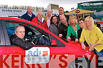 Kerry instructors: Some of Kerry's ADI approved driving instructors who say the cowboy instructors in Kerry are set to vanish with new ADI regulations. Joe Downey, Castleisland (in car) back l-r  Sean Crowley (Tralee), Gary Smith (Ballyduff), Leslie Hughes (Tralee), Colm Horan (Tralee), John Harrington (Tralee), Gordon Sheehy (Listowel), Ann O' Dowd (Tralee), Laura Crowley (Tralee) and Nicole Fitzell (Ardfert).