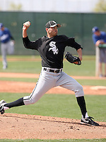 Jeff Marquez, Chicago White Sox minor league spring training..Photo by:  Bill Mitchell/Four Seam Images.