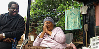 """Vusi Mahlasela, famous Music Poet of South Africa is simply known as """"The Voice"""". Antje Sharifa is a friend of his family and she remembers the struggle days during Apartheid, when she had hidden Vusi from the security forcs in her backyard. Townnship of Mamelodi, Pretoria, SA 2007"""