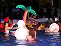 Tokyo Prince hotel swimming pool opening ceremony