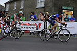 Final lap during the Irish National Men's Elite Road Race Championships held over an undulating course featuring 9 laps centered around the village of Multyfarnham, Co.Westmeath, Ireland. 29th June 2014.<br /> Picture: Eoin Clarke www.newsfile.ie