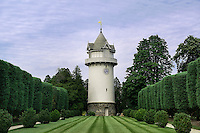 Water tower, Nemours Mansion and Gardens, Wilmington, Delaware, USA