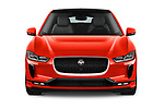 Car photography straight front view of a 2019 Jaguar I Pace HSE 5 Door Hatchback