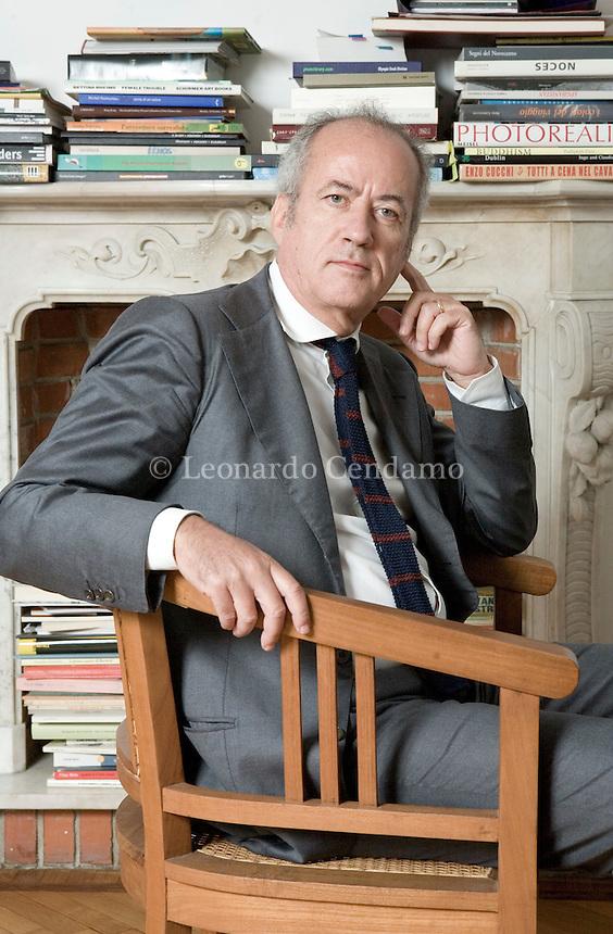 Milan, Italy, 2008. Giuseppe Russo, Director of Neri Pozza publishing house.