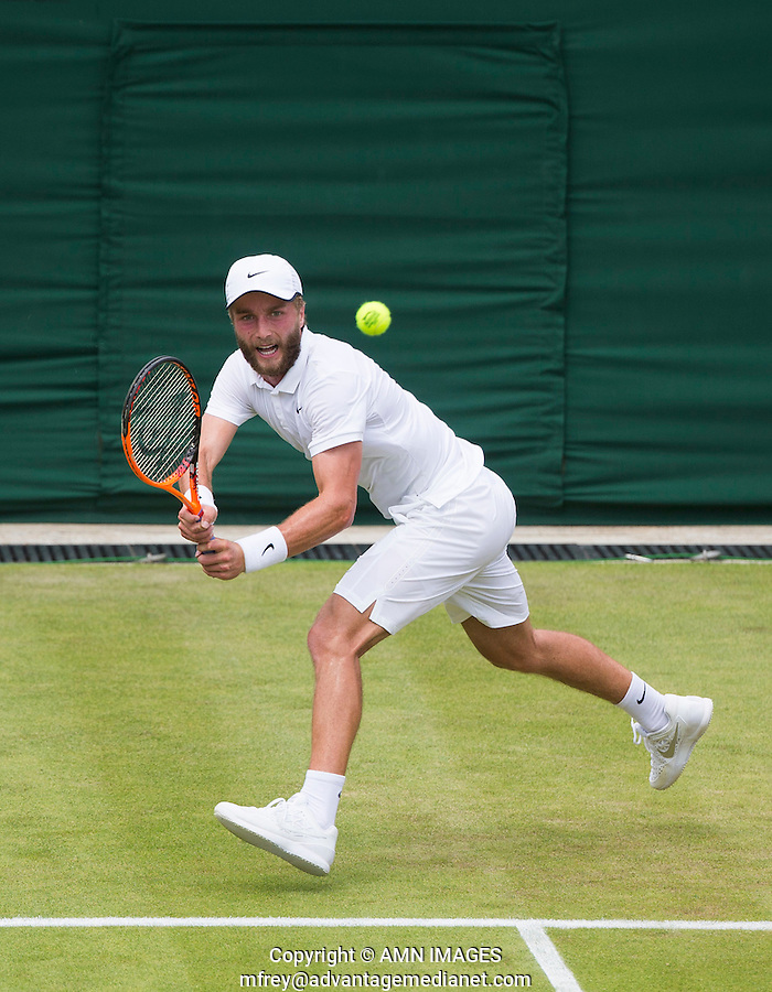 LIAM BROADY (GBR)<br /> <br /> TENNIS - THE CHAMPIONSHIPS - WIMBLEDON 2015 -  LONDON - ENGLAND - UNITED KINGDOM - ATP, WTA, ITF <br /> <br /> &copy; AMN IMAGES